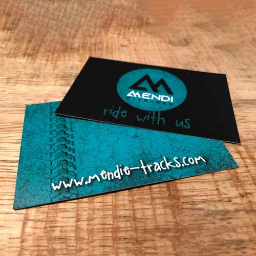 Mendi e-Tracks taldearen irudi korporatiboa