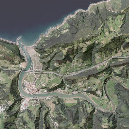 Mapa ortofoto